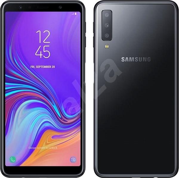 5b2963370 Samsung Galaxy A7 Dual SIM černá - Mobilní telefon | Alza.cz