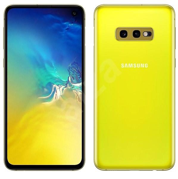 Samsung Galaxy S10e Dual SIM žlutá - Mobilní telefon