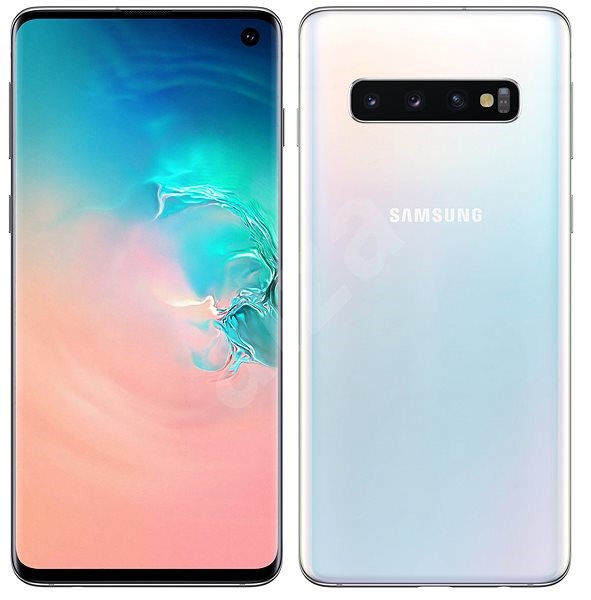 Samsung Galaxy S10 Dual SIM 512GB bílá - Mobilní telefon