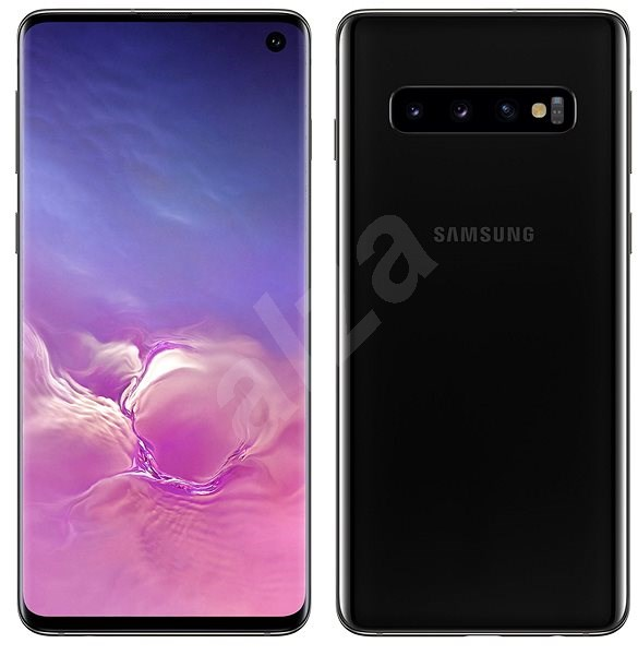 Samsung Galaxy S10 Dual SIM 512GB černá - Mobilní telefon