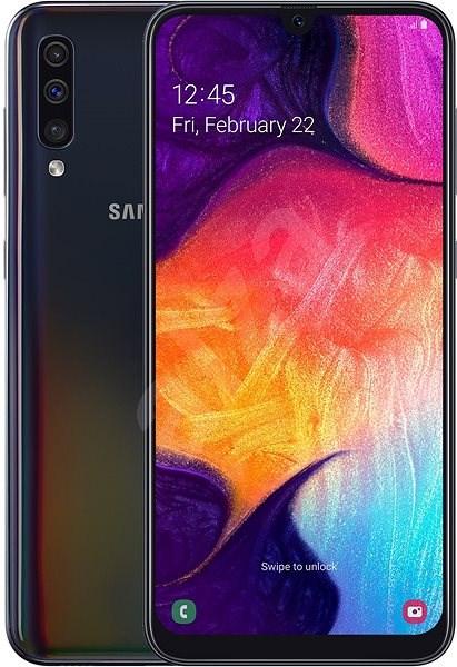 Samsung Galaxy A50 Dual SIM černá - Mobilní telefon