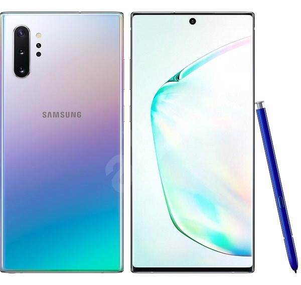 Samsung Galaxy Note10+ Dual SIM gradientní stříbrná - Mobilní telefon