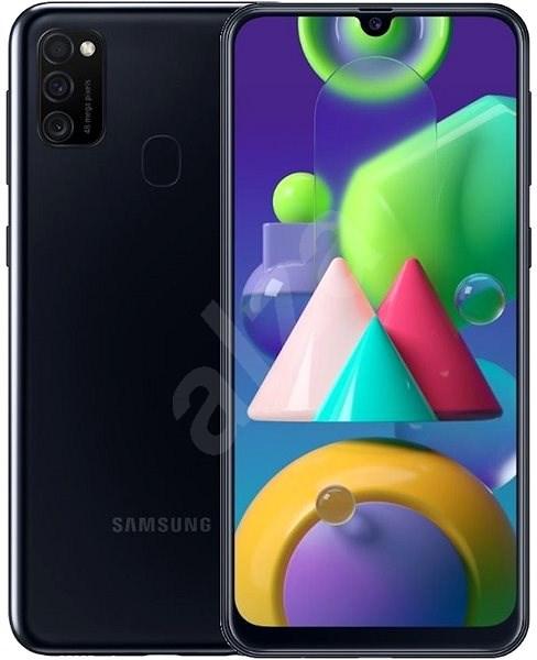 Samsung Galaxy M21 černá - Mobilní telefon