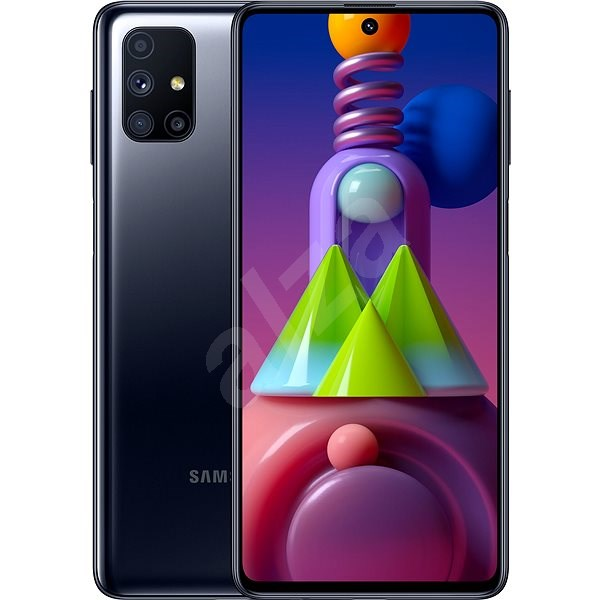 Samsung Galaxy M51 černá - Mobilní telefon