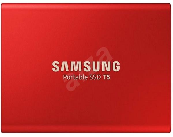 Samsung SSD T5 500GB červený - Externí disk