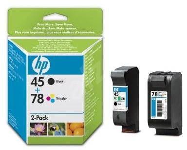 HP SA308AE č. 45 + 78 - Sada cartridge