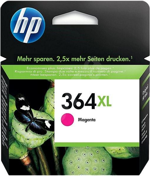 Cartridge HP inkoustová náplň 364XL červená -