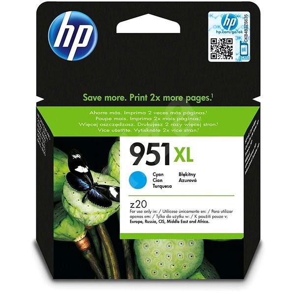 HP CN046AE č. 951XL azurová - Cartridge