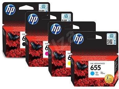 HP č. 655 multipack - Cartridge