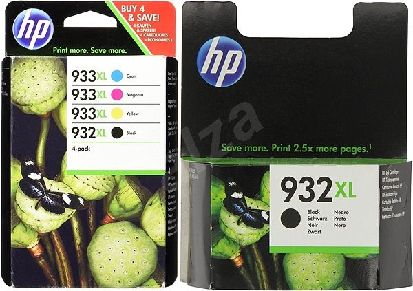 HP C2P42AE + HP CN053AE č. 2x 932XL+933XL multipack - Cartridge