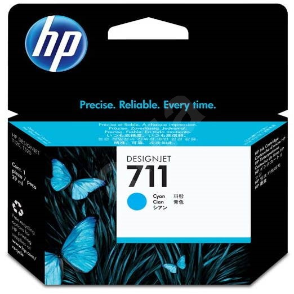 HP CZ130A č. 711 azurová - Cartridge