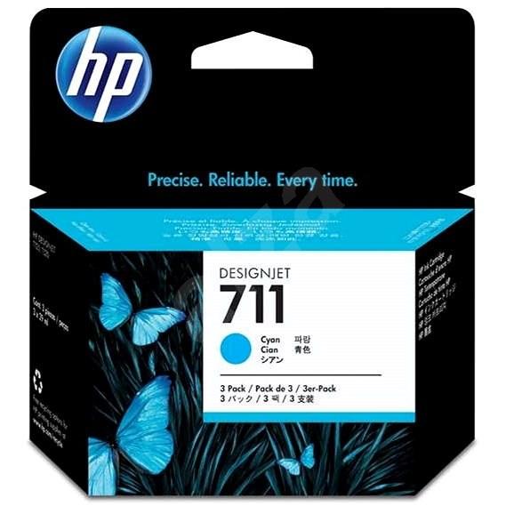 HP CZ134A č. 711 azurová - Cartridge