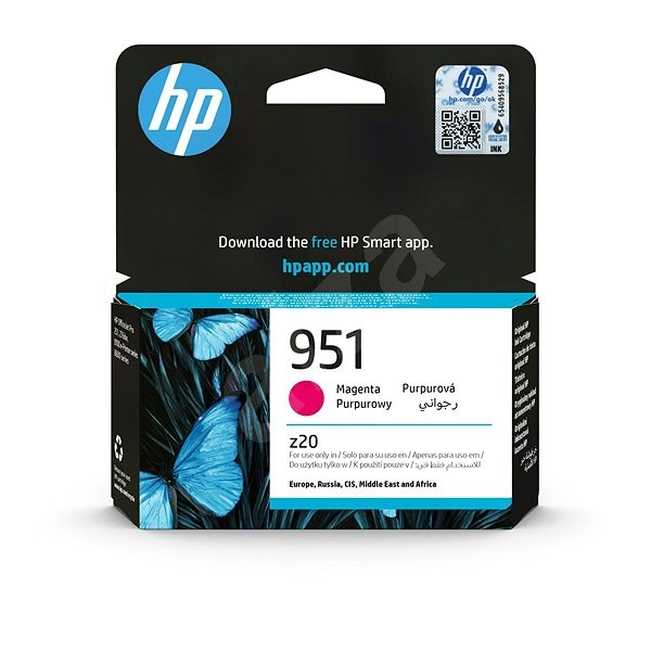 HP CN051AE č. 951 purpurová - Cartridge