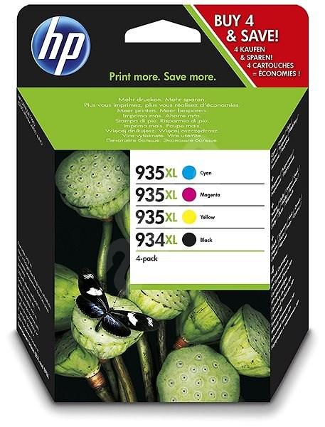HP X4E14AE č. 934XL/935XL multipack - Cartridge