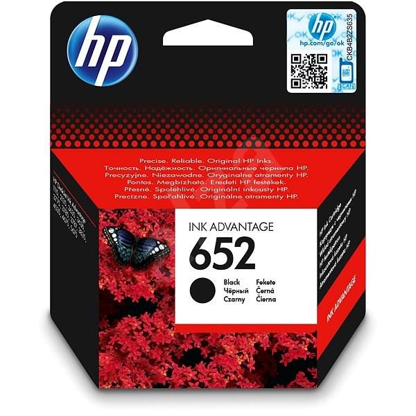 HP F6V25AE č. 652 černá - Cartridge