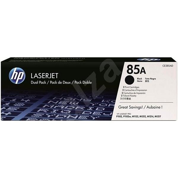 HP CE285AD č. 85A Dual Pack černý 2ks - Toner
