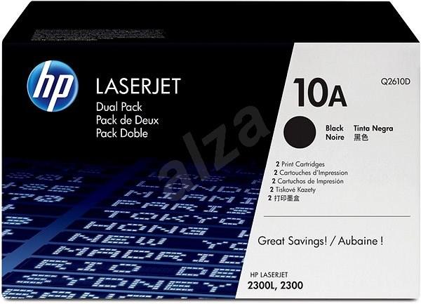 HP Q2610A č. 10A černý - Toner