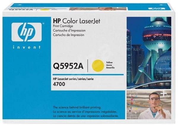 HP Q5952A žlutý - Toner