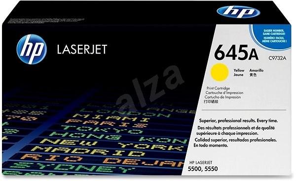 HP C9732A žlutý - Toner