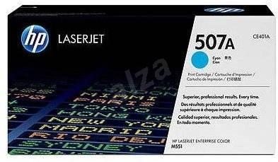 HP CE401A č. 507A azurový - Toner