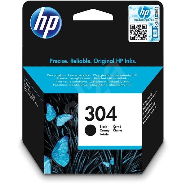 HP N9K06AE č. 304 černá - Cartridge