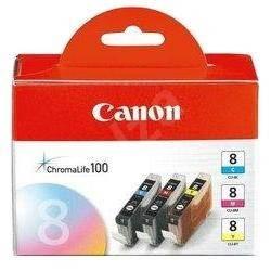 Canon CLI-8 C/M/Y Pack azurová, purpurová, žlutá - Cartridge