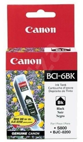 Canon BCI6BK černá - Cartridge