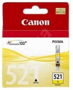 Canon CLI-521Y žlutá - Cartridge
