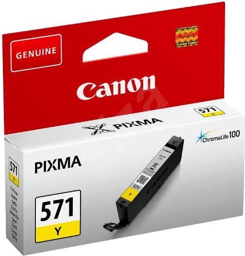 Canon CLI-571Y žlutá - Cartridge