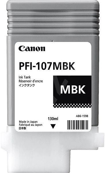 Canon PFI-107MBK matná černá - Cartridge