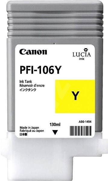 Canon PFI-106Y žlutá - Cartridge
