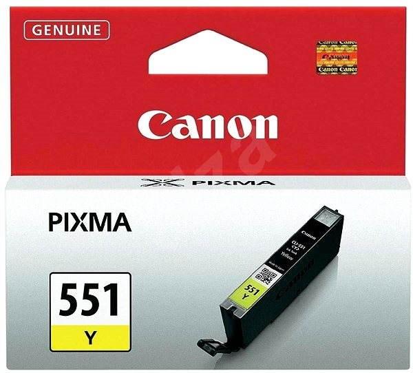 Canon CLI-551Y žlutá - Cartridge