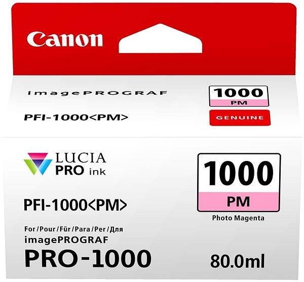 Canon PFI-1000PM foto purpurová - Cartridge