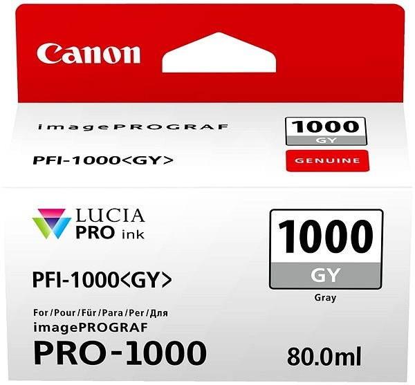 Canon PFI-1000GY šedá - Cartridge