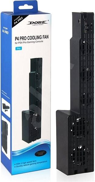 Lea Cooling Fan PS4 PRO black - Dokovací stanice