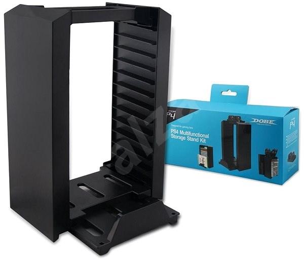 Dobe PS4 Disc Storage Kit - Stojan