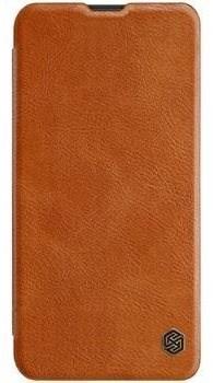 Nillkin Qin Book pro Samsung Galaxy A70 Brown - Pouzdro na mobilní telefon