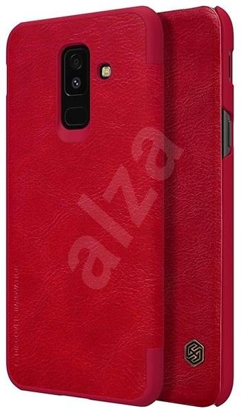Nillkin Qin Book pro Samsung A600 Galaxy A6 2018 Red - Pouzdro na mobilní telefon