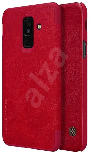 Nillkin Qin Book pro Samsung A605 Galaxy A6 Plus 2018 Red - Pouzdro na mobilní telefon