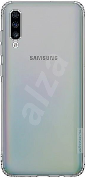 Nillkin Nature TPU pro Samsung A70 Grey - Kryt na mobil