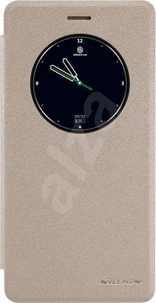 Nillkin Sparkle S- View pro Lenovo Vibe K5 Note Gold - Pouzdro na mobilní telefon