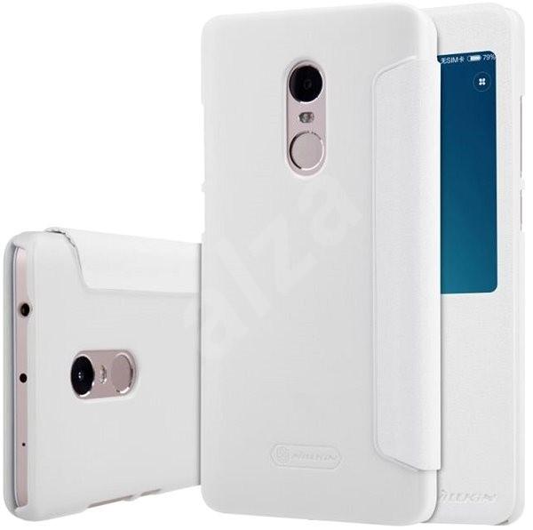 Nillkin Sparkle S-View White pro Xiaomi Redmi 4 Pro - Pouzdro na mobilní telefon