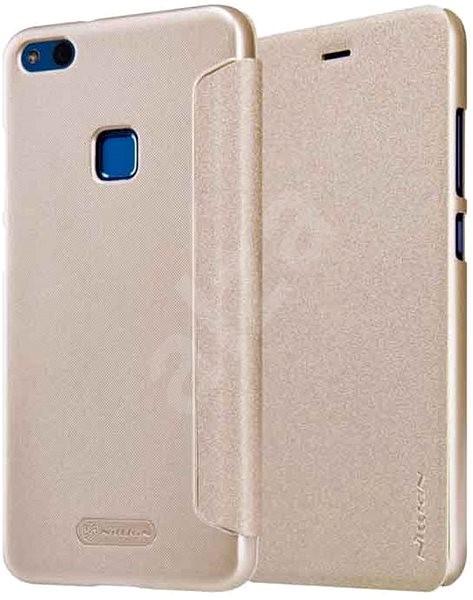 Nillkin Sparkle Folio Gold pro Huawei P10 Lite - Pouzdro na mobil