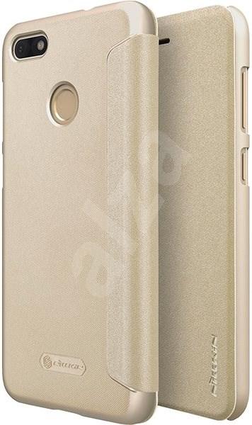 Nillkin Sparkle Folio pro Huawei P9 Lite Mini Gold - Pouzdro na mobilní  telefon afd336d262e