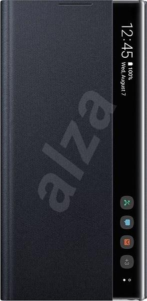 Samsung Flipové pouzdro Clear View pro Galaxy Note10+ černé - Pouzdro na mobil