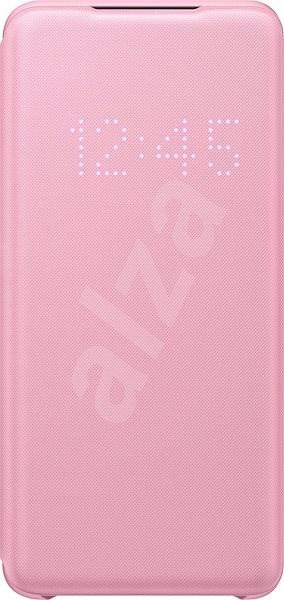 Samsung  Flipové pouzdro LED View pro Galaxy S20 růžové - Pouzdro na mobilní telefon