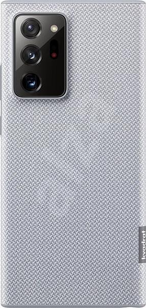 Samsung Ekologický zadní kryt z recyklovaného materiálu pro Galaxy Note20 Ultra 5G šedý - Pouzdro na mobil