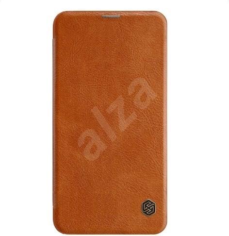 Nillkin Qin Book pro Samsung Galaxy S10e Brown - Pouzdro na mobilní telefon