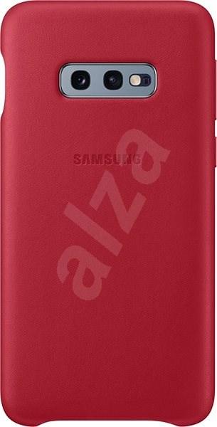 Samsung Galaxy S10e Leather Cover červený - Kryt na mobil