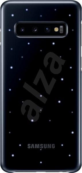 Samsung Galaxy S10 LED Cover černý - Kryt na mobil